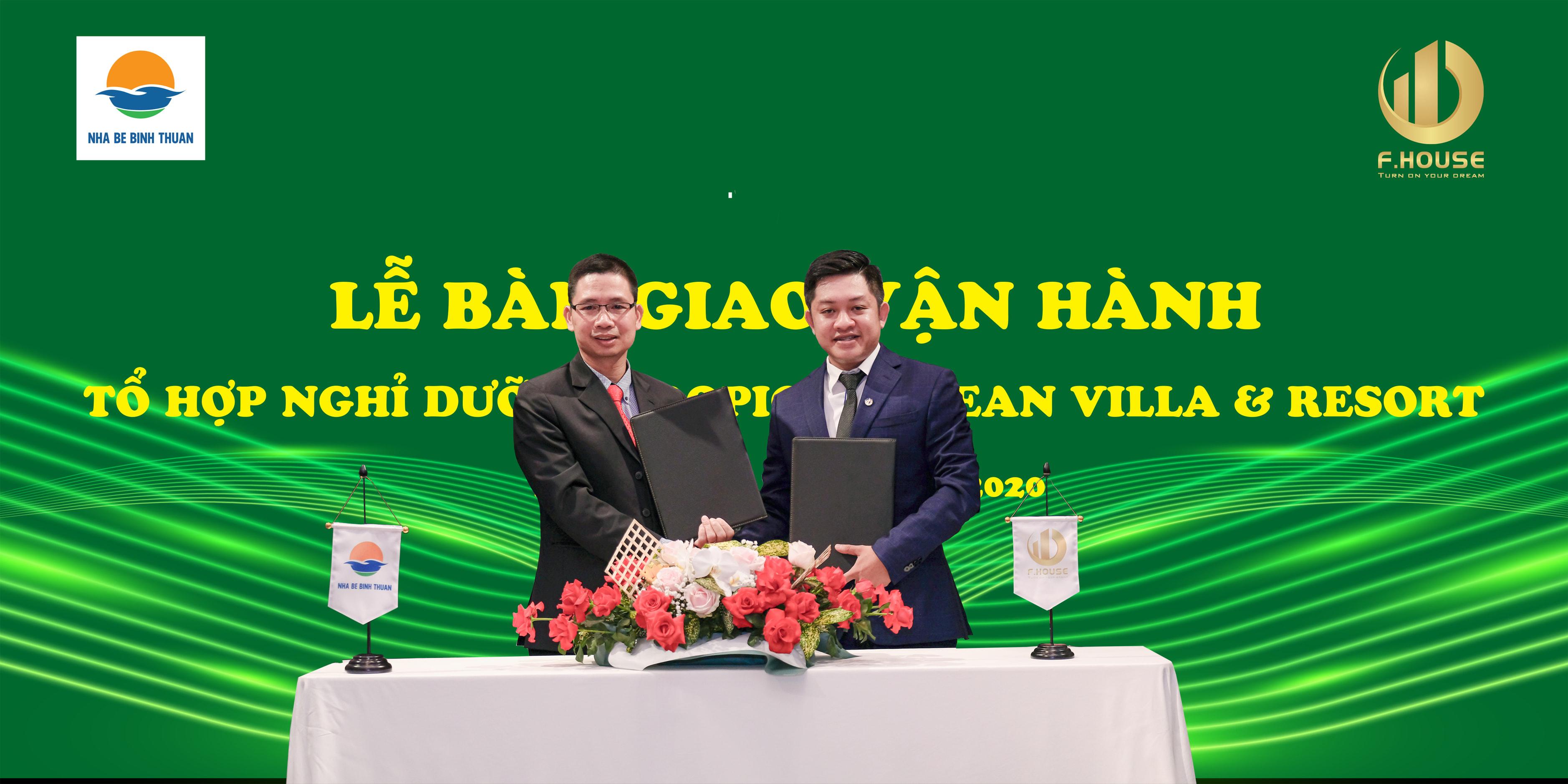 Lễ Ký Kết Bàn Giao Khu Phức Hợp Nghỉ Dưỡng Tropical Ocean Villa & Resort Kê Gà